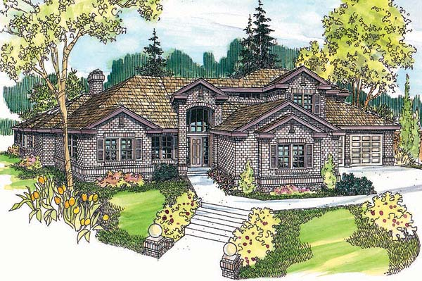 Traditional House Plan 69753 Elevation