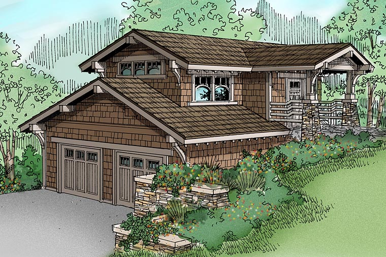 Traditional House Plan 69755 Elevation