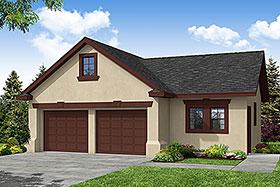 Traditional 2 Car Garage Plan 69759 Elevation