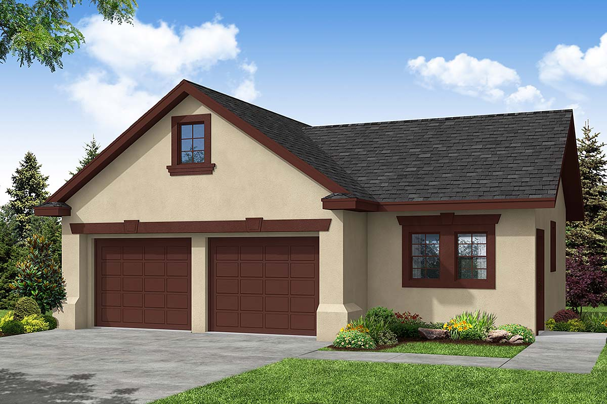 Traditional Garage Plan 69759 Elevation
