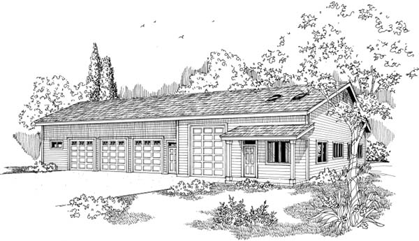 Garage Plan 69764