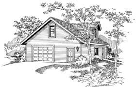 Traditional Garage Plan 69766 Elevation