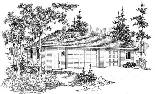 Garage Plan 69769