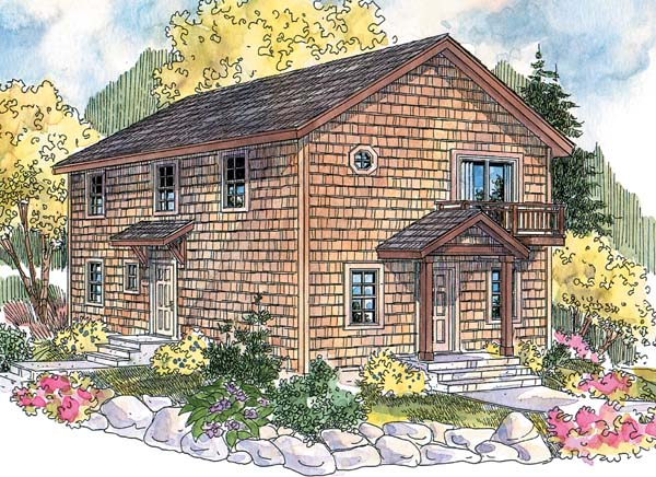 House Plan 69777 | Cape Cod Style Plan with 1814 Sq Ft, 3 Bedrooms, 2 Bathrooms Elevation