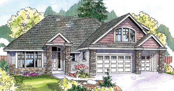 Contemporary Country House Plan 69785 Elevation