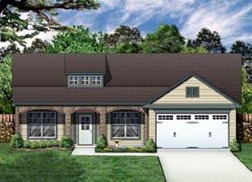Craftsman Tudor House Plan 69925 Elevation