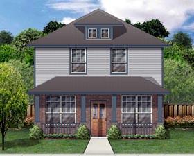 Cottage Craftsman Traditional House Plan 69927 Elevation