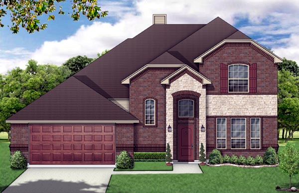 Traditional House Plan 69929 Elevation