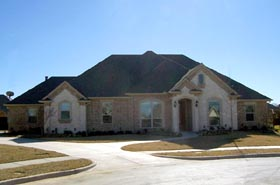 House Plan 69930 | Traditional Style Plan with 2345 Sq Ft, 4 Bedrooms, 3 Bathrooms, 2 Car Garage Elevation