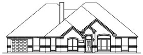 Traditional House Plan 69931 Elevation