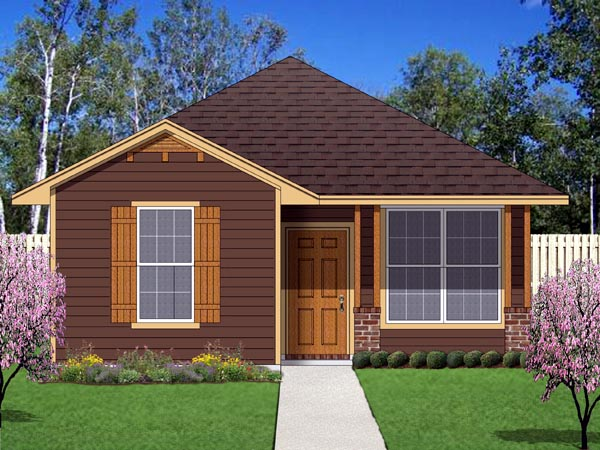 Cottage, Craftsman House Plan 69938 with 2 Beds, 2 Baths Front Elevation