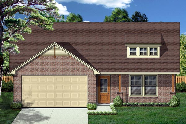 Cottage Craftsman House Plan 69946 Elevation