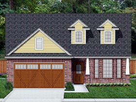 Cottage Country Traditional House Plan 69954 Elevation