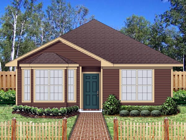 Cottage Traditional House Plan 69959 Elevation