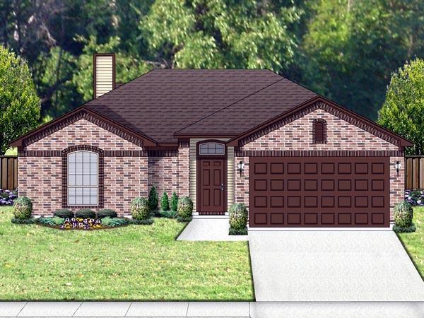 Traditional House Plan 69960 Elevation