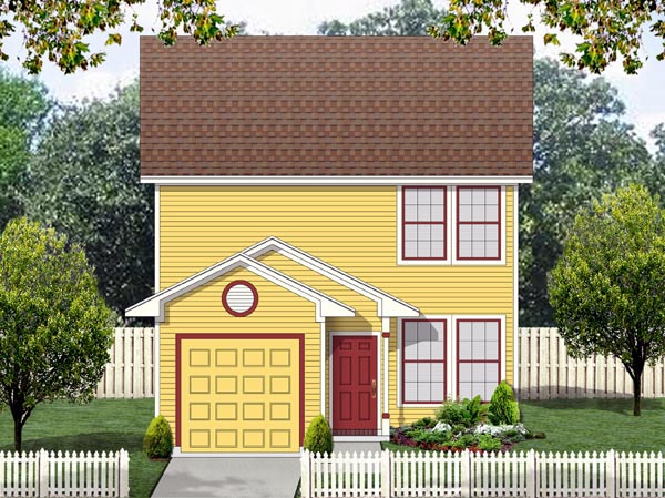Cape Cod Cottage House Plan 69962 Elevation