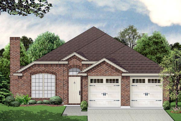 Traditional House Plan 69963 Elevation