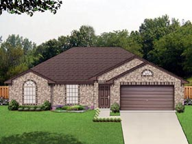 Traditional House Plan 69966 Elevation