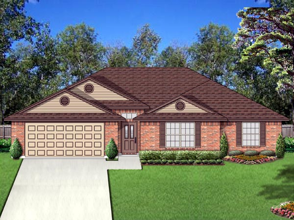 Traditional House Plan 69968 Elevation