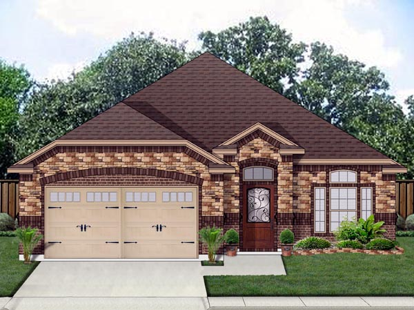 Traditional House Plan 69969 Elevation