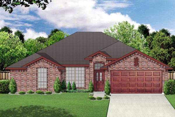 Traditional House Plan 69971 Elevation