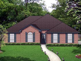 Traditional House Plan 69973 Elevation