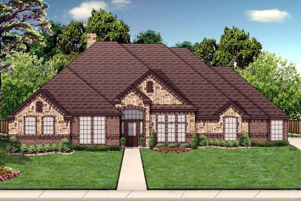 Traditional House Plan 69975 Elevation