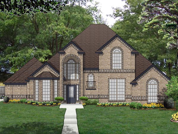 Traditional House Plan 69977 Elevation