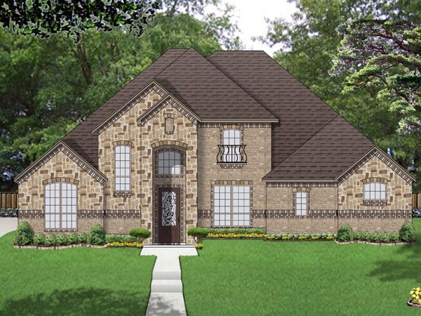 Traditional House Plan 69978 Elevation