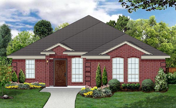 Traditional House Plan 69984 Elevation