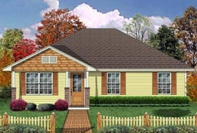 Craftsman House Plan 69985 Elevation
