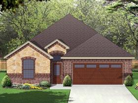 European Traditional House Plan 69990 Elevation