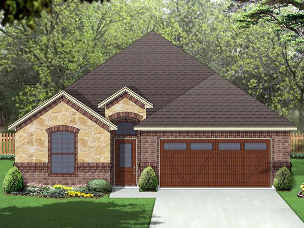 European Traditional House Plan 69990 Elevation