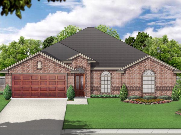 Traditional House Plan 69991 Elevation