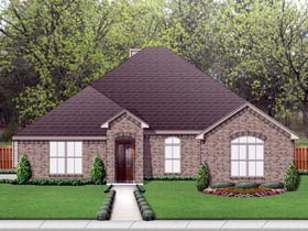 Traditional House Plan 69993 Elevation