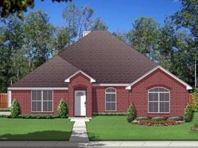 Traditional House Plan 69994 Elevation