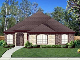 House Plan 69996 | Traditional Style Plan with 2086 Sq Ft, 3 Bedrooms, 2 Bathrooms, 2 Car Garage Elevation