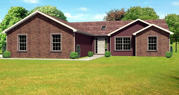 Traditional House Plan 70103 Elevation
