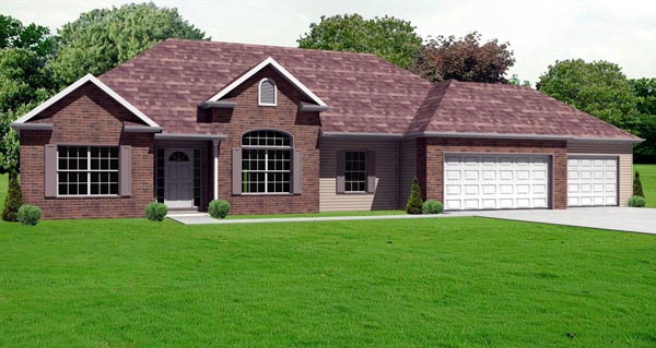 Traditional House Plan 70124 Elevation