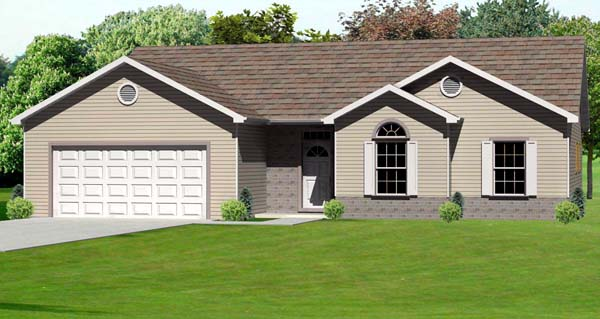 Traditional House Plan 70164 Elevation