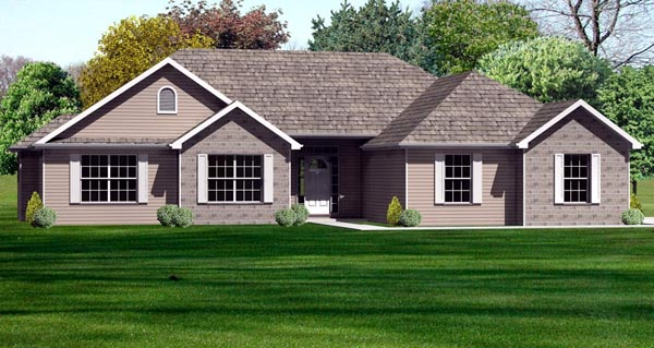 Traditional House Plan 70169 Elevation