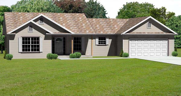 Traditional House Plan 70175 Elevation