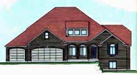Traditional House Plan 70404 Elevation