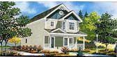 Plan Number 70409 - 1104 Square Feet