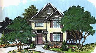 Traditional House Plan 70410 Elevation