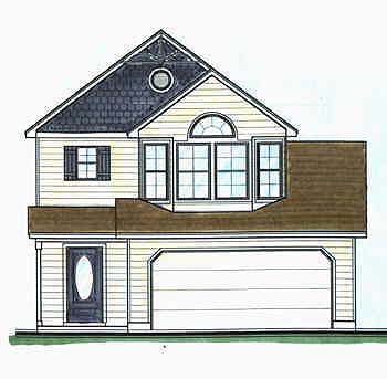 Traditional House Plan 70411 Elevation