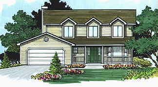 Cape Cod House Plan 70413 Elevation