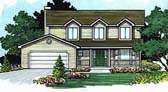 Plan Number 70413 - 1596 Square Feet