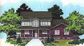 Traditional House Plan 70415 Elevation