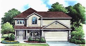 Traditional House Plan 70416 Elevation